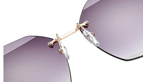 Los Polarizadas Gafas Sol SeñOras Gray Las De ConduccióN Purple gray purple Vendimia Parejas Hombres BNN Metal qtwaYC