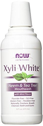 Xyliwhite Neem & Tea Tree Mouthwash Now Foods 16 fl oz Liqui