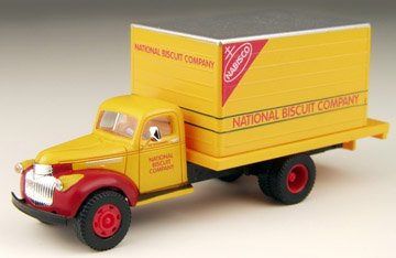(1941/46 Chevrolet Delivery Truck Nabisco 1/87 Classic Metal Works)