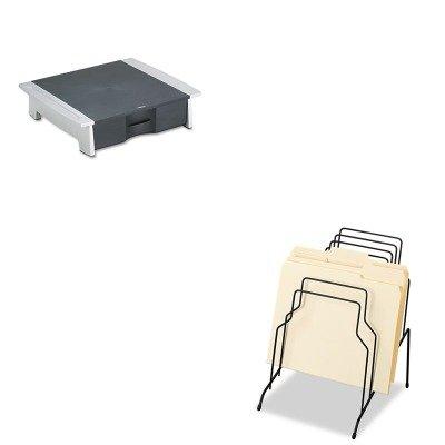 (KITFEL72614FEL8032601 - Value Kit - Fellowes Printer/Fax Machine Stand (FEL8032601) and Fellowes Step File (FEL72614))