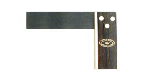 Crown 124 4 Inch Try Square  Rosewood