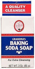 Baking Soda Soap Grandpa Soap Company 3.25 oz Bar - Unscented