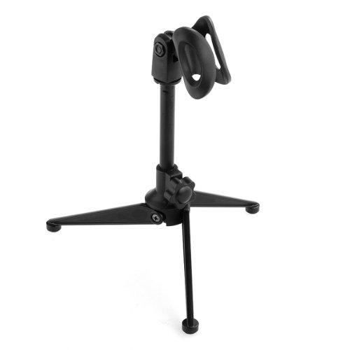 4 opinioni per Treppiedi Supporta Stand Regolabile Piegabile Nero per Microfono Nuovo
