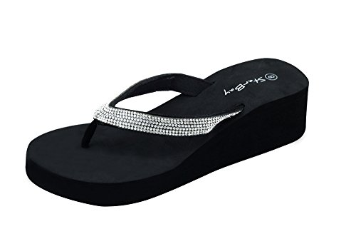 Womens Wedge Flip Flop - 6