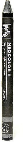 Caran d'Ache Neocolor II Aquarelle Water Soluble Wax Pastels (Black) 4 pcs sku# 1824086MA
