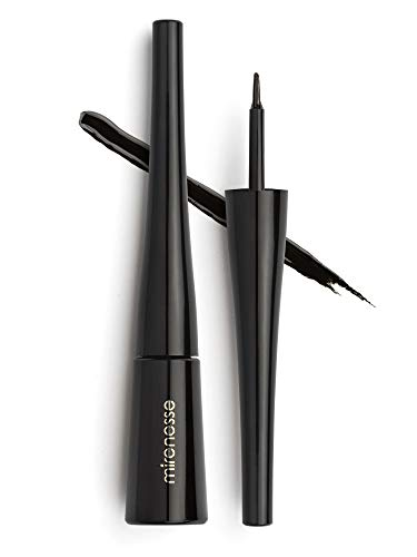 Mirenesse Magnomatic Eyeliner, Magnetic Liner Used for Easy No Adhesive No Mess Application of Magnetic False Eyelashes, Vegan & Toxin Free, Magnetizing Black Liquid Liner ()