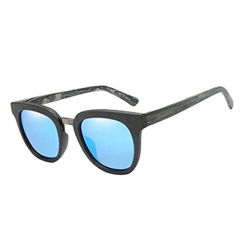 de Gafas Azul Cómodo Sol Amarillo 1x Conducir se de Hombres Describe como Madera Lectura 400 Duradero Viaje Homyl Pesca UV Senderismo 5EqgWRn5w