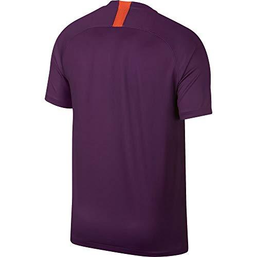 Breathe Silver 3rd Uomo Nike Purple T Night shirt Stadium Manchester reflective City Fc w1OOSqtf7