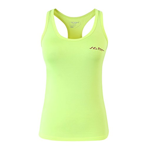 Summit Glory Women's Workout Quick Dry Yoga Fitness Racerback Tank Top ShinyXL For Sale