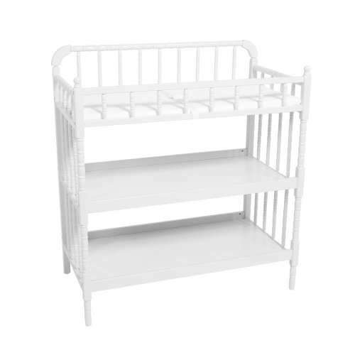 Amazon.com : Delta Childrenu0027s Products Jenny Lind Changing Table In White :  Baby