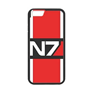 Mass Effect For iPhone 6 4.7 Inch Case Cell phone Case Yiyb Plastic Durable Cover