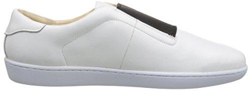 Neuf Ouest Femmes Rumba En Cuir Mode Sneaker Blanc / Noir