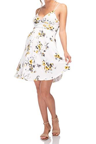 Beachcoco Women's Maternity Sweetheart Short Dress Made in U