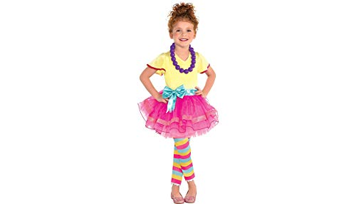(Fancy Nancy Halloween Costume for Toddler Girls, 3-4T, with Included Accessories, by Party)