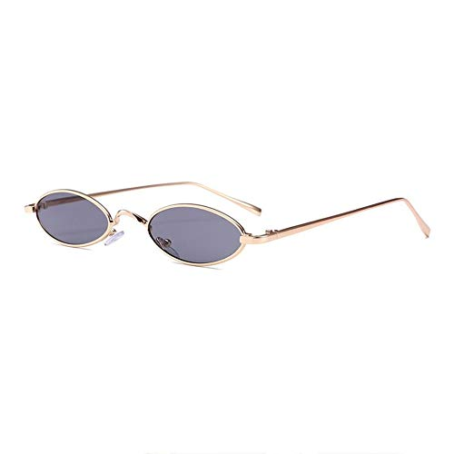 Silverkial Diseño de moda Mujer Hombre Gafas de sol pequeñas ...