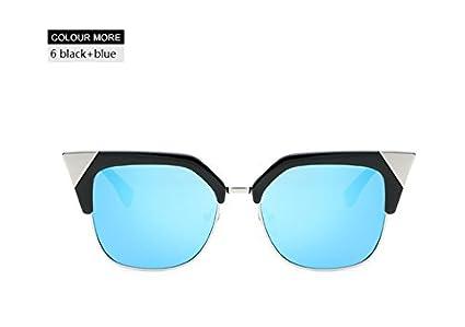 68899b696550 BranXin(TM) Fashion Vintage Semi-Rimless Cat Eye Sunglasses Women 2017 New  Half