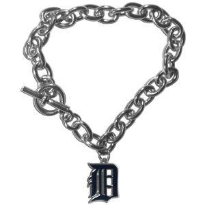 Siskiyou MLB Detroit Tigers Charm Chain Bracelets, 7.5-Inch