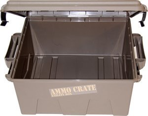 MTM ACR8-72 Ammo Crate Utility Box with 7.25 Deep Large Dark Earth
