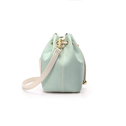 Woven color Strap Bucket Mobile Small Chain nbsp; Green Bag Female Hand wxfwzq7OY