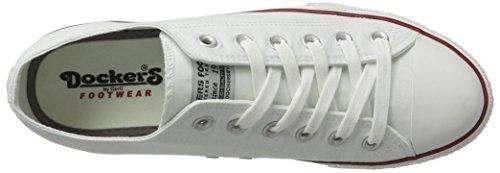 Weiss Dockers Gerli 500 by Uomo Ginnastica Bianco 710500 Scarpe da 30pr034 Basse r6rFxfv