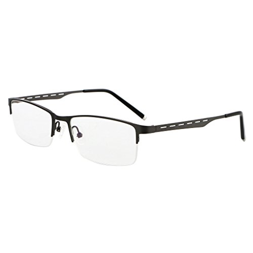 Bi Tao Transition Lens Photochromic Gray Reading Glasses 2.00 Men Women Fashion Light Readers - Gray Lenses
