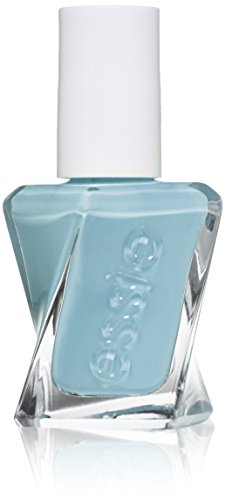 essie gel couture nail polish, first view, blue nail polish, 0.46 fl. oz. - Couture 1 Light