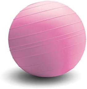 d-ballエリミネーター14インチヘックスキャップスクリューSlamボール – Non Bounce Super Heavy Medicine Ball – ピンクに役立つFund乳がん研究  200lb