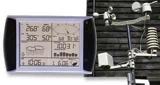 Watson W-8681 estación meteorológica inalámbrica,: Amazon.es ...