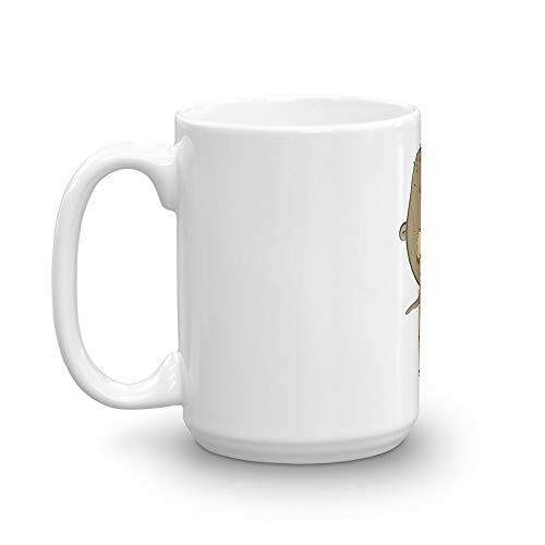 (Halloween Zombi Ghost Trick Treat Mug 15 Oz White)