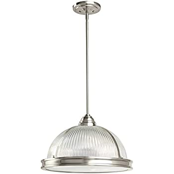 Sea Gull Lighting 65062-962 Pratt Street Prismatic Three-Light Pendant with Clear Textured  sc 1 st  Amazon.com & Sea Gull Lighting 65062-962 Pratt Street Prismatic Three-Light ...