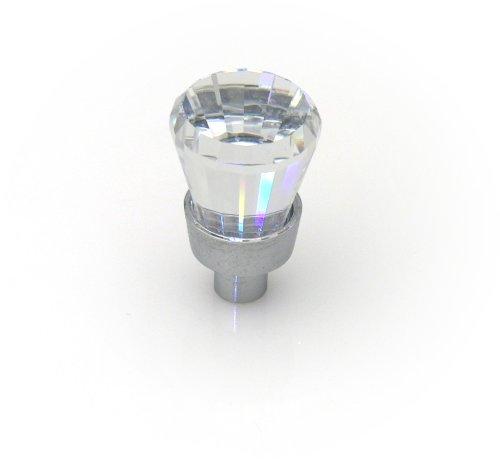 TOPEX HARDWARE P89885CRL TOPEX HARDWARE P89885CRL Knob, 20mm, Swarovski Crystal/Bright Chrome, 20mm, Swarovski Crystal/Bright Chrome by Topex Hardware B00UNFE8GY