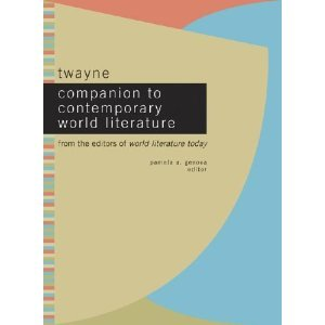Twayne Companion to Contemporary World Literature : From the Editors of World Literature Today: 002