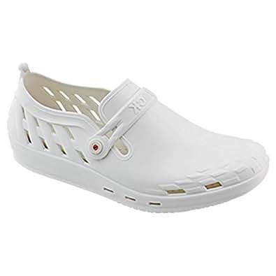 Wock White Flat Sandal For Unisex