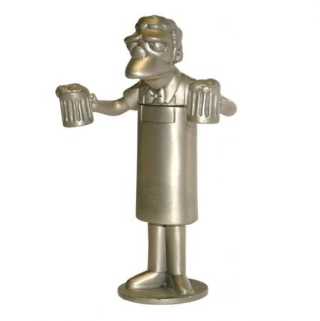 - The Simpsons Pewter Collection Moe Szyslak Cork Screw