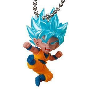 (Gashapon Dragon Ball Super UDM (Ultimate Deformed Mascot) Burst 25 Mini Figure : SSGSS Son Gokou (single))