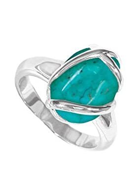 Boma Jewelry Sterling Silver Turquoise Ring