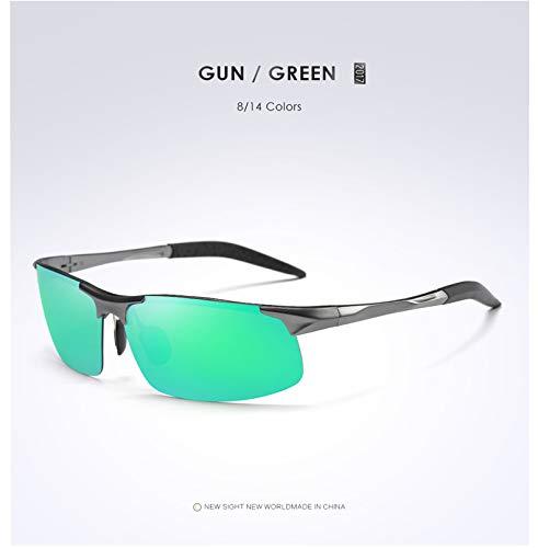 Lunettes étoile Option UV Homme de pour Star Lunettes Soleil de grayframegreen UV400 polarisées Cyclisme Protection en Multicolore Fq4TZtxw
