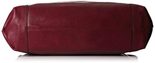 porté Hudson épaule Snakeskin Sac Bordeaux Rouge Rouge Trim Swankyswans I61CqFww