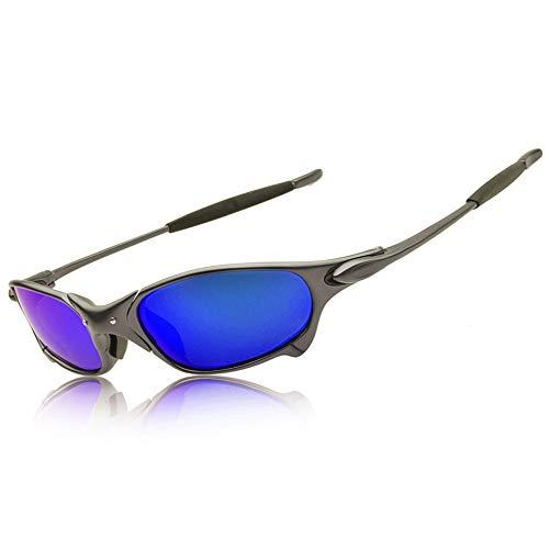 Top Sports Polarized juliet Sunglasses Aluminum Alloy Riding Flash Iridium Mirror (gun ()