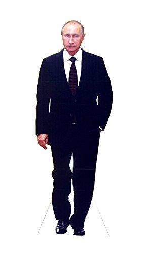 Aahs Engraving Life Size Vladimir Putin Novelty Cardboard Standup  5 5 Feet