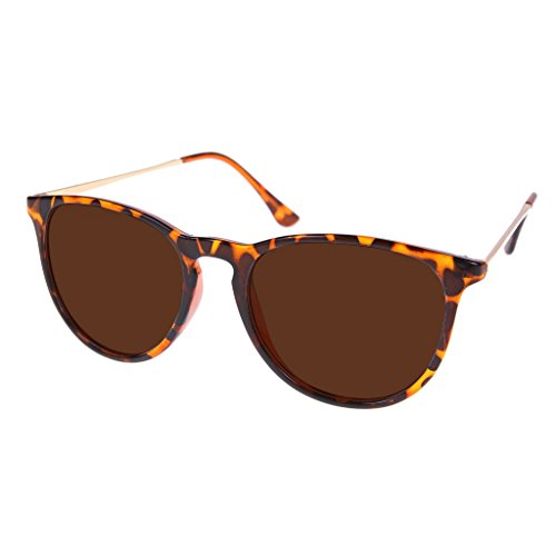 - Southern Seas Tinted Brown -0.50 Distance Nearsighted Lenses Non Prescription Tortoise Frames