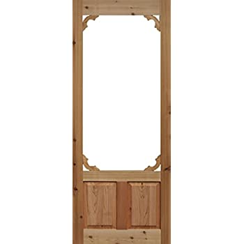 Charmant Cedar Woodland Screen Door 32 In. X 80 In. (32x80)