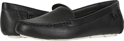 UGG Women's Flores Driving Style Loafer Black 12 M US ()