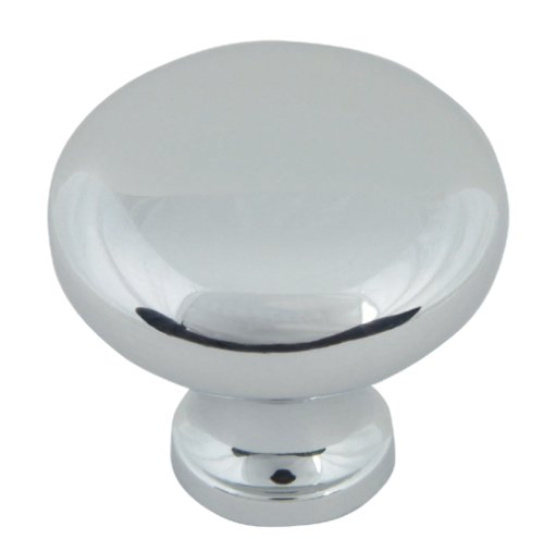 Chrome Knob Cabinet Pull Accessory (Atlas Homewares A819-CH 1-1/4-Inch Euro-Tech Collection Round Knob, Polished)