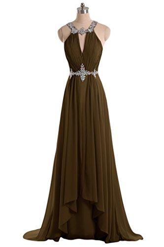 Ivydressing Elegant Halter Rhinestoned Ruched Prom Party ...