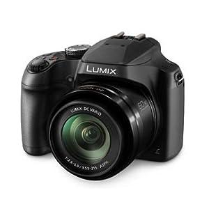 PANASONIC LUMIX FZ80 4K Point and Shoot Camera, 60X (20-1200mm) Power O.I.S. Lens, 18.1 Megapixels, 3 Inch Touch LCD, DC-FZ80K (USA BLACK)