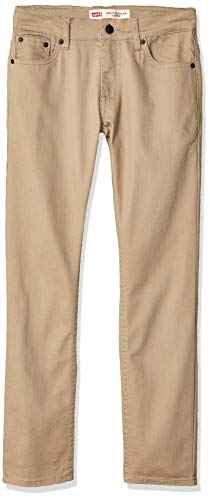 Levi's Boys' Big 502 Regular Fit Taper Jeans, True Chino, 16 ()
