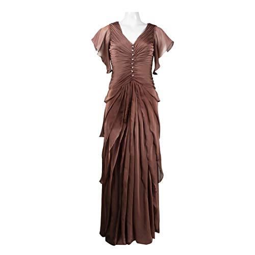 See the TOP 10 Best<br>Cascade Sleeve Chiffon Dress