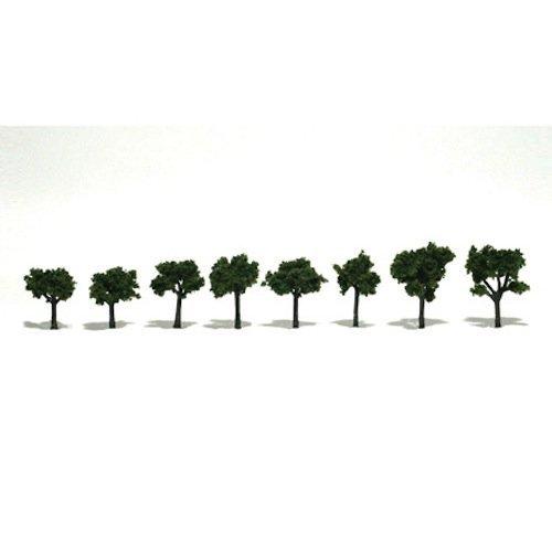 Medium Green Ready Made Trees 3/4 -1 1/4 Woodland Scenics by Woodland Scenics [並行輸入品] B01IYKZGZQ