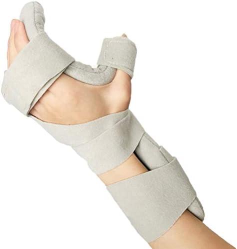 指の矯正器 指の添え木指板 指の訓練装置 自由に曲が 、角度を調節することができます 快適な着、脳卒中片麻痺患者の腱の運動のための手首手首リハビリテーション訓練装置強化版 (Color : 左手)